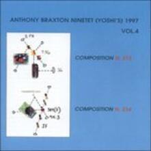Ninetet 1997 vol.4 - CD Audio di Anthony Braxton
