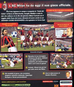 Videogioco Club Football Milan Xbox 1