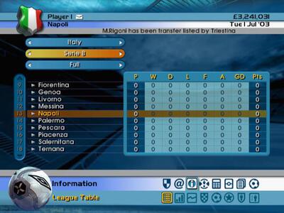 Football Manager Campionato 2005 - 3
