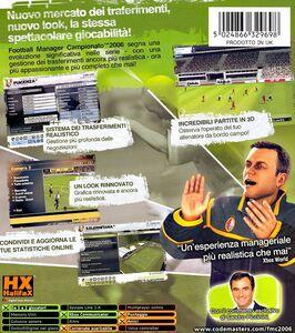 Videogioco Football Manager Campionato 06 Xbox 7