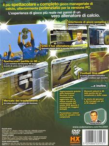 Videogioco Football Manager Campionato 07 Personal Computer 10