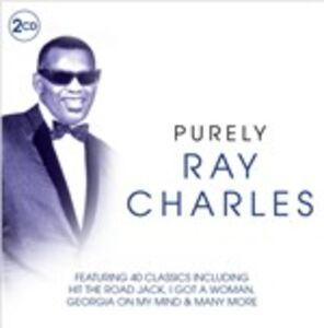 Foto Cover di Purely Ray Charles, CD di Ray Charles, prodotto da Purely