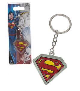 Portachiavi DC Comics. Superman in Metallo
