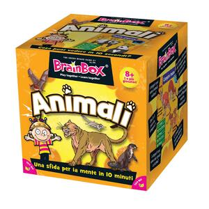 Green Board Game Gg36193. Brain Box: Animali