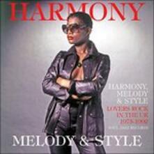 Harmony, Melody & Style - CD Audio