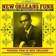 New Orleans Funk vol.4. Voodoo Fire in New Orleans 1951-75 - Vinile LP