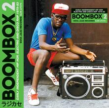 Boombox 2.Early Independent Hip Hop Electro and Disco Rap - Vinile LP