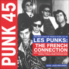 Punk 45 Les Punks! The First Wave of French Punk 1977-1980 - CD Audio