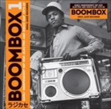 Boombox. Early Independent Hip Hop, Electro and Disco Rap 1979-82 - CD Audio