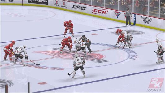 Videogioco NHL 2K9 Xbox 360 5