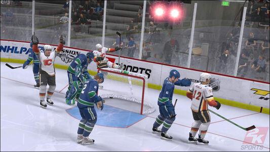 Videogioco NHL 2K9 Xbox 360 6