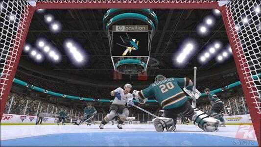 Videogioco NHL 2K9 Xbox 360 8