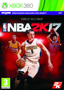Videogioco NBA 2K17 - X360 Xbox 360