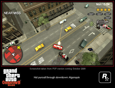 Videogioco Grand Theft Auto: Chinatown Wars Sony PSP 6