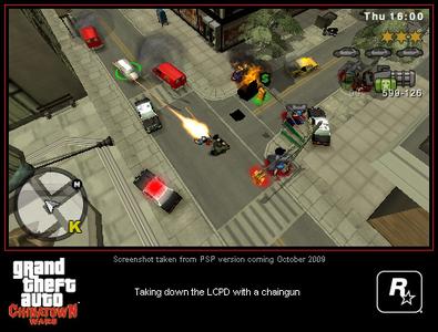 Videogioco Grand Theft Auto: Chinatown Wars Sony PSP 8