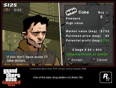 Videogioco Grand Theft Auto: Chinatown Wars Sony PSP 9