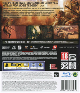 Videogioco Spec Ops: The Line PlayStation3 4