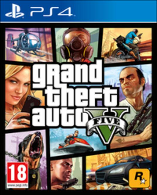 Grand Theft Auto V (GTA V) - 5
