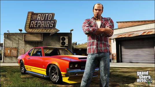 Grand Theft Auto V (GTA V) - 8