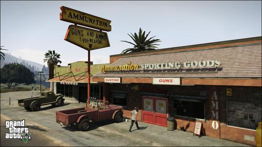 Grand Theft Auto V (GTA V) - 11