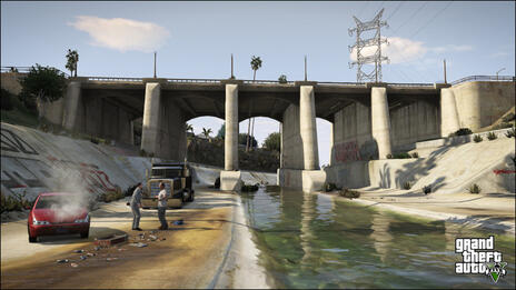 Grand Theft Auto V (GTA V) - 14