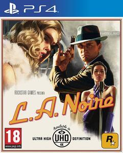 L.A. Noire - PS4 - 2