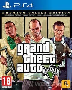 Grand Theft Auto V Premium Online Ed. - PS4