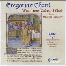 Gregorian Chant From Westminster Cathedr - CD Audio di Westminster Cathedral Choir