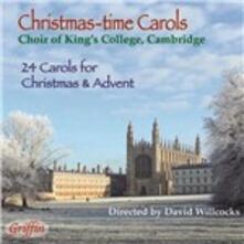Carole natalizie - CD Audio di King's College Choir,David Willcocks