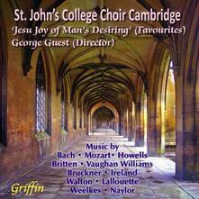 Jesu, Joy of Man's Desiring - CD Audio di Johann Sebastian Bach,St. John's College Choir,George Guest