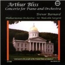 Concerto per pianoforte T58 in Si - CD Audio di Sir Arthur Bliss