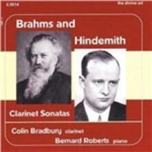 Sonate per clarinetto - CD Audio di Johannes Brahms,Paul Hindemith