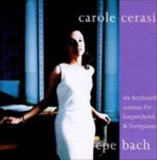 Sonate per Strumento a Tastiera - CD Audio di Carl Philipp Emanuel Bach