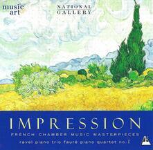 Impression. Musica da camera francese - CD Audio