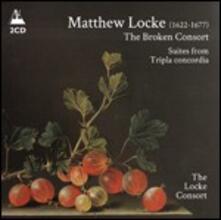 The Broken Consort - CD Audio di Matthew Locke,Locke Consort