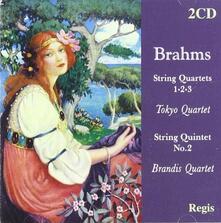Quartetti per Archi n.1, n.2, n.3 - CD Audio di Johannes Brahms