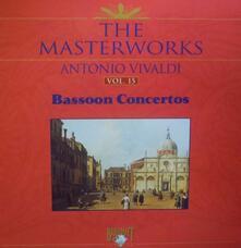 The Masterworks Antonio Vivaldi vol.15 Bassoon - CD Audio di Antonio Vivaldi