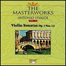 Sonate per Violino Op.2 n.1, n.2, n.3, n.4, n.5, n.6 - CD Audio di Antonio Vivaldi