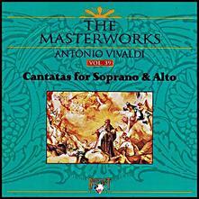 Cantatas for Soprano & Alto - CD Audio di Antonio Vivaldi