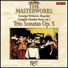 The Masterworks vol.38 Trio Sonatas - CD Audio di Georg Friedrich Händel