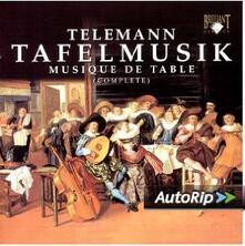 Tafelmusik - CD Audio di Georg Philipp Telemann,Pieter-Jan Belder,Musica Amphion