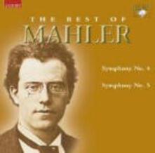 The Best of Mahler. Sinfonie n.4, n.5 - CD Audio di Gustav Mahler,Eliahu Inbal,Helen Donath,Radio Symphony Orchestra Francoforte