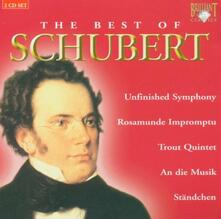 The Best of Schubert - CD Audio di Franz Schubert