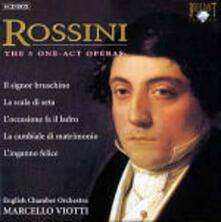 Le cinque opere in atto unico - CD Audio di Gioachino Rossini