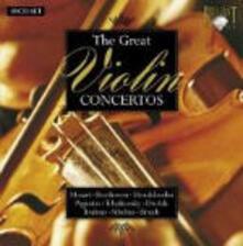 Celebri concerti per violino - CD Audio