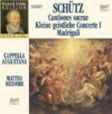 Schütz Edition vol.2 - CD Audio di Heinrich Schütz,Cappella Augustana,Matteo Messori