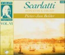 Sonate vol.6 - CD Audio di Domenico Scarlatti,Pieter-Jan Belder