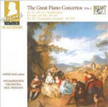I grandi concerti per pianoforte vol.2 - CD Audio di Wolfgang Amadeus Mozart,Philharmonia Orchestra,Paul Freeman,Derek Han