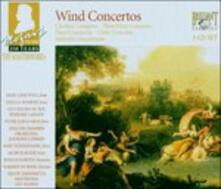Concerti per strumenti a fiato - CD Audio di Wolfgang Amadeus Mozart
