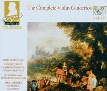Concerti per violino - CD Audio di Wolfgang Amadeus Mozart